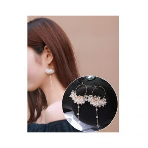 Crystal Cloud Earings