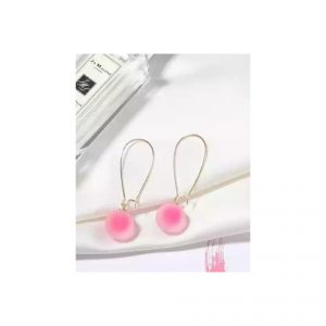 Cloudy Pink Earings