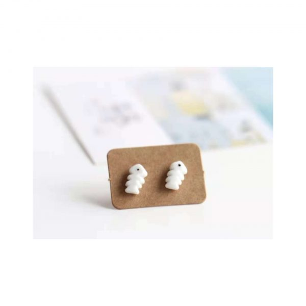 Fish Bone Earings