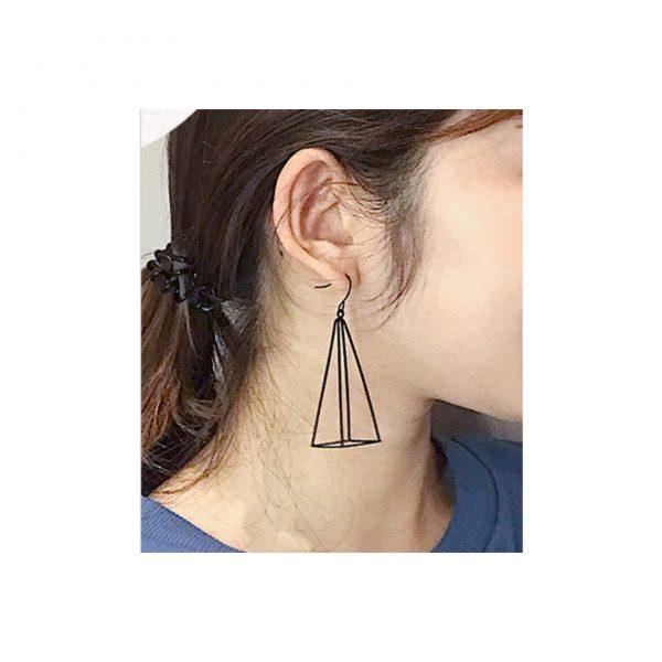 Black Prism Earings