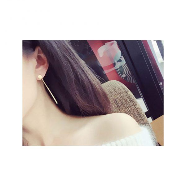 Simple Gold Earings