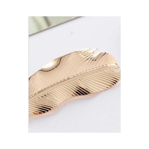 Golden Leaf Hair Clip