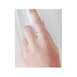 Silver Lightning Ring
